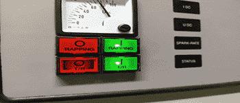 वायु प्रदूषण नियंत्रण इलेक्ट्रोस्टैटिक प्रीसिपिटेटर ईएसपी नियंत्रण पैनल