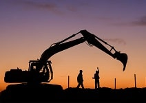 used construction machinery and operators