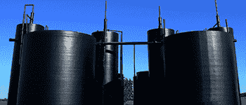 oil gas and petrochemicals oil storage tanks